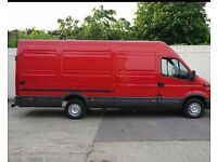 Large van with a man.single items starting from £15 Belfast.House removal delivery and collection.