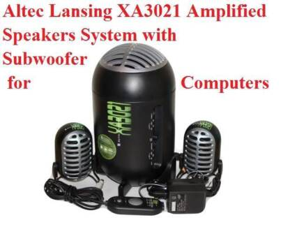 Altec Lansing XA3021 Amplified Speakers System with Subwoofer for