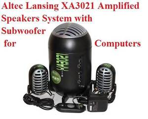 Altec Lansing XA3021 Amplified Speakers System with Subwoofer for Colyton Penrith Area Preview