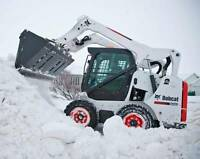 *** SNOW CLEARING & BOBCAT SERVICE ***