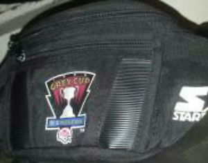 Grey cup pouch