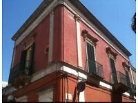 Beautiful 2 bed Apartment for Swap in the town centre of San Michelle Salentino Puglia Italy.