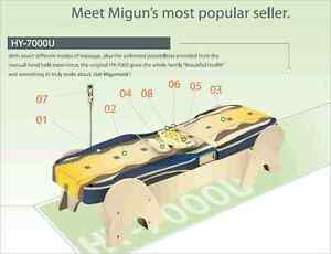 MIGUN Electric Massage Bed with Infrared Heated Jade - HY-7000 Hay Point Mackay Surrounds Preview