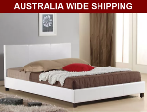 EH001 Brand New Beds white/black all sizes available