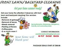PEEL YARD MAKEOVERS CLEANUPS DESIGN SOD TRIM MULCH..AVAILABLE