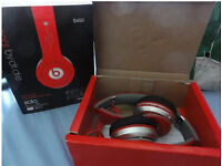NEW DR DRE SOLO HD WIRELESS+WIRED BLUETOOTH HEADPHONES RED SD CARD MP3 PLAYER FM FOR IPOD PC LAPTOP