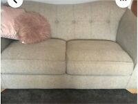DFS Beautiful Natural Coloured 3 Seater Sofa Great Condition.