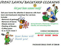 SAME DAY GRASS CUTS CANADA DAY SPECIAL! CALL NOW! NORTH BRAMPTON
