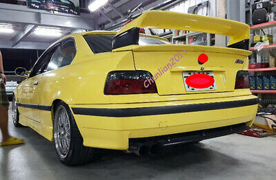 Rear Spoiler For BMW E36 M3 COUPE 2DR 1992-1998 Spoilers Wings ABS Plastic