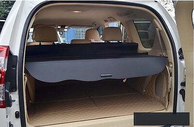 Rear Trunk Shade Cargo Cover for 2010-2018 Toyota LAND CRUISER PRADO FJ150 BLACK
