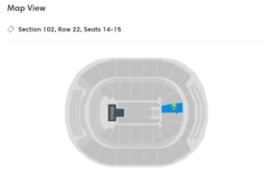 2 Tickets - Panic At The Disco - Toronto on Sunday July 22