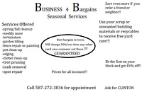 BUSINESS 4 BARGAINS