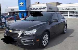 2015 CHEVY CRUZE 1 YR LEASE TAKEOVER