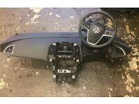 Astra j 2012 dashboard and air bag complete set