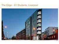 Double en-suite room in flat share with 4 female UOL 2nd year students, X1 The Edge, Liverpool