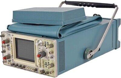 Tektronix 466 Dual-channel Portable Storage System Oscilloscope W Accessory Bag