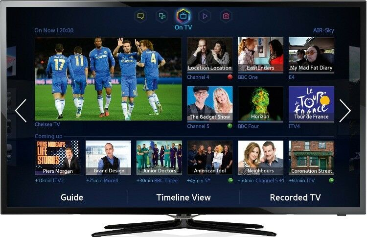 21d52913d9e Ultra Slim Samsung 40 inch Full HD 3D LED Smart TV with Freeview ...