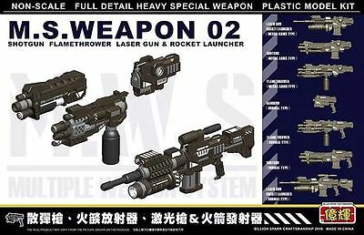 1/35 Weapon Unit Shot Guns For  Metal Slug models Tank Action Mini Tank 02
