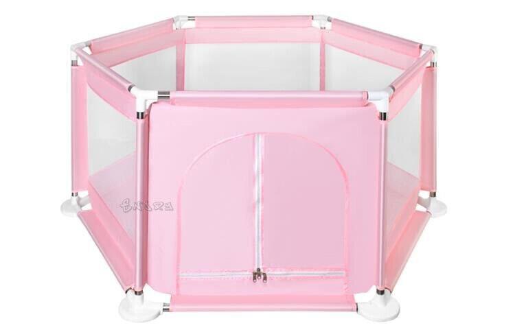 Box Recinto per Bambini Barriera di Sicurezza Richiudibile con Porta cerniera