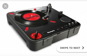 numark portable scratch turntable