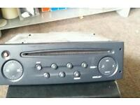 Renault clio 2005 radio and cassette player