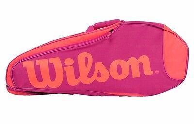 tennistasche 3er pink