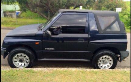 Suzuki vitara soft top convertible Manual