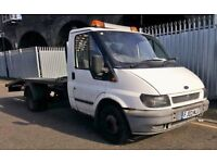 Ford transit recovery Truck, Year 2003 beaver tail Quick SALE