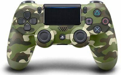 Sony Dualshock 4 Wireless Controller for Playstation 4 Green Camouflage NEW