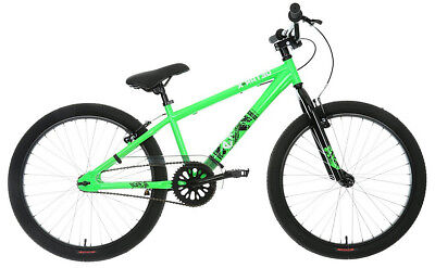 "X-Rated Exile Dirt Jump Bike Bicycle 24"" Inch Wheels 13"" Steel Frame V-Brakes"