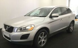 SILVER VOLVO XC60 2.4 D4 AWD R DESIGN LUX  2.0 SE 2WD G/T FROM £45 PER WEEK!