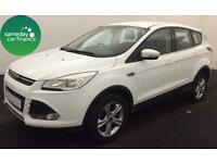 £250.72 PER MONTH WHITE 2013 FORD KUGA 2.0 ZETEC DIESEL MANUAL