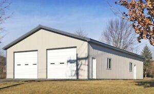 Steel Buildings, Work Shops, Garages