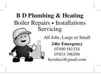 Bd pluming&heating 24 hours emergency