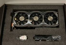 Zotac gtx 980 ti AMP Extreme edition graphics card