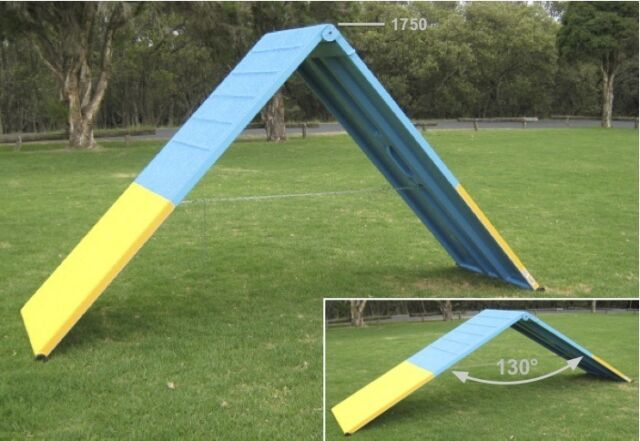 Dog Agility Equipment Aust Ramp A Frame Scamble Pet