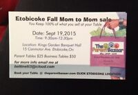 Huge MOM to MOM sale Etobicoke Sell your children's used items