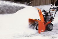 Snow Removal Services – Commercial & Residential