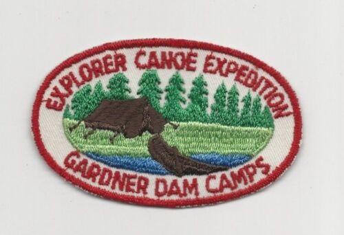 Gardner Dam Camp Explorer Canoe Expedition
