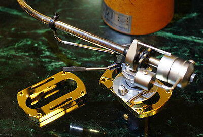 Bronze 8mm Spacer For SME 3009,3010,3012 Tonearms & Garrard 301,401,Thorens