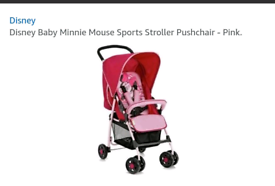 Minnie mouse pushchair ( BRAND NEW )£30 0no