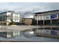 Parking space Bristol, millennium promenade, Harbourside
