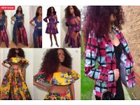 £1 investment for african designer clothes to sell in Manchester and nationally