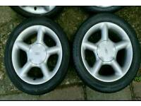 "15"" escort gti alloy wheels"