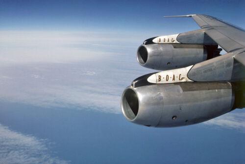 "BOAC Boeing 707-436 ((8.5""x11"")) Print"