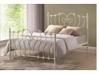 Metal double beds
