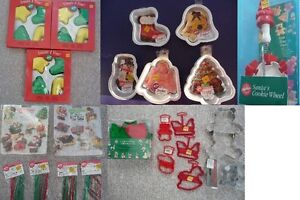 Brand New Christmas Themed Baking Items - Variety To Choose From