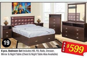 BEDROOM SET ON HUGE SALE!!!!!!!!!!CALL 4167437700