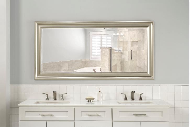 Large Full Length Floor Mirror Dressing Wall Standing Bevele