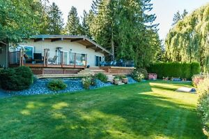 WATERFRONT HOME ON SHUSWAP LAKE